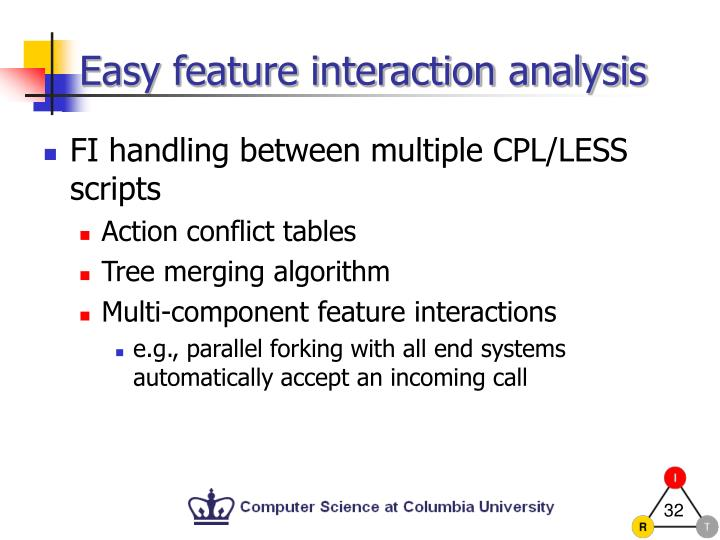 Easy feature interaction analysis