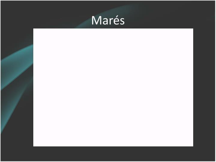Marés