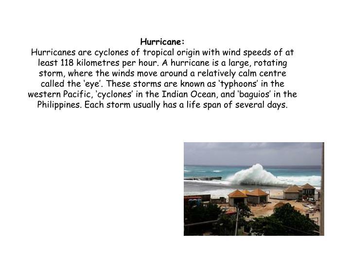 Hurricane: