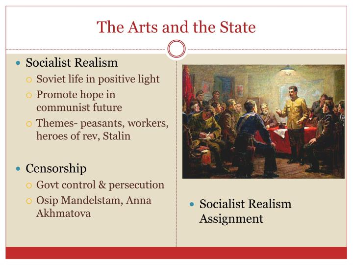 The Arts and the State