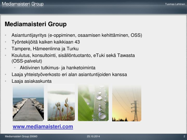 Mediamaisteri Group