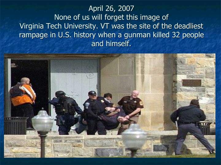 April 26, 2007