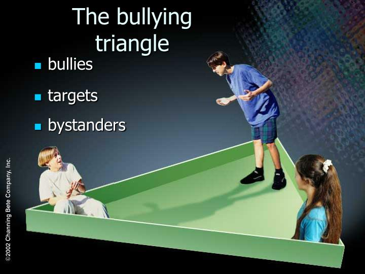 The bullying triangle