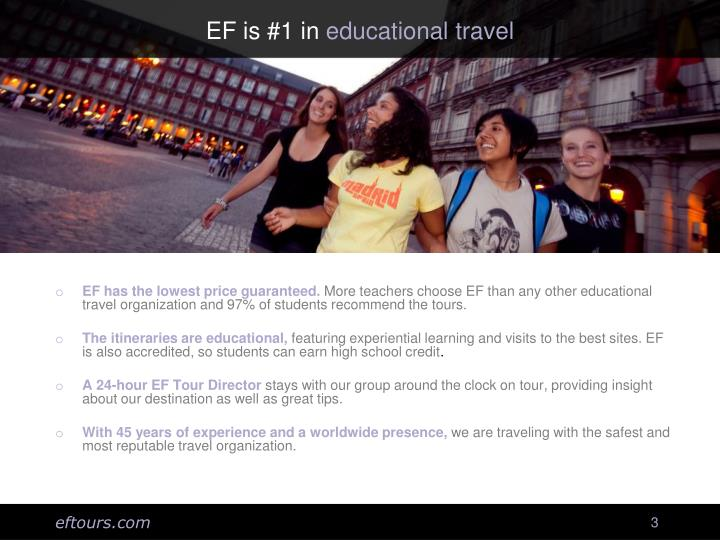 EF is #1 in