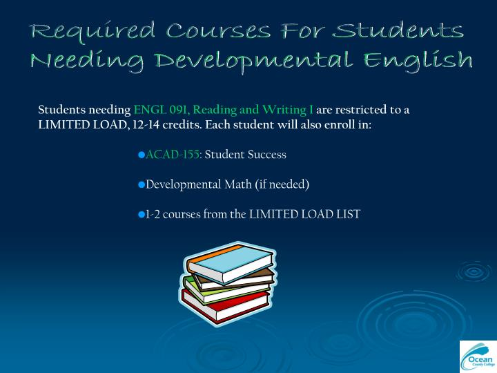 Required Courses For Students