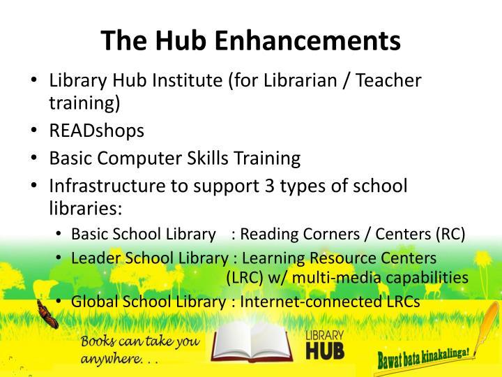 The Hub Enhancements