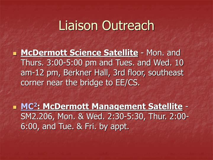 Liaison Outreach