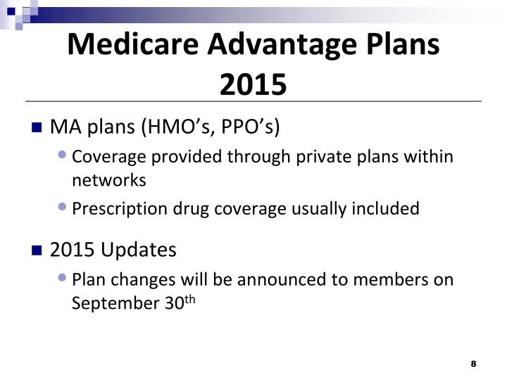 Medicare Advantage Plans 2015