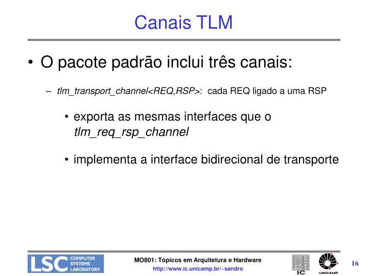 Canais TLM