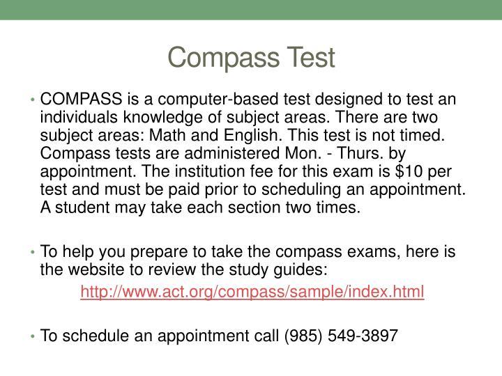 Compass Test