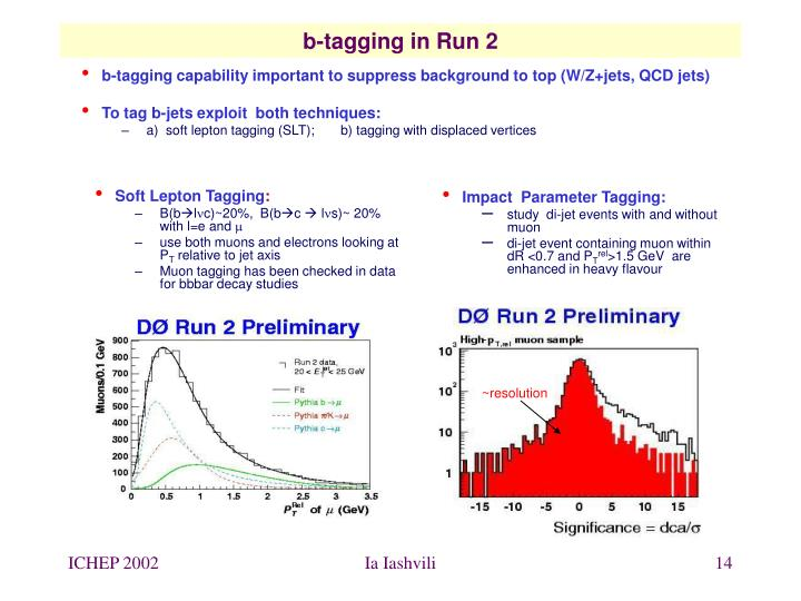 b-tagging capability important to suppress background to top (W/Z+jets, QCD jets)