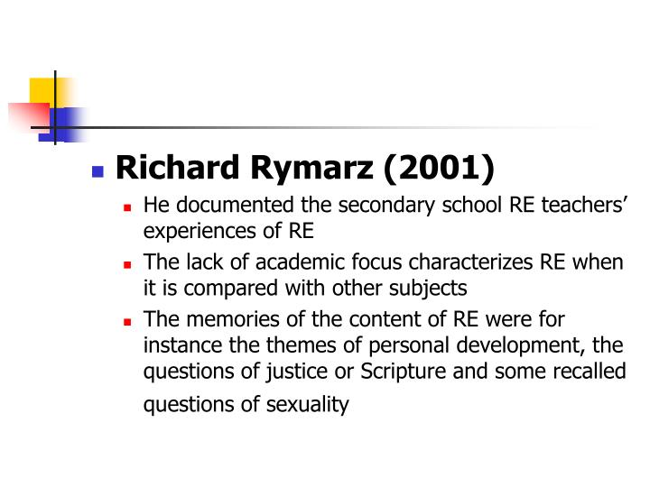 Richard Rymarz (2001)