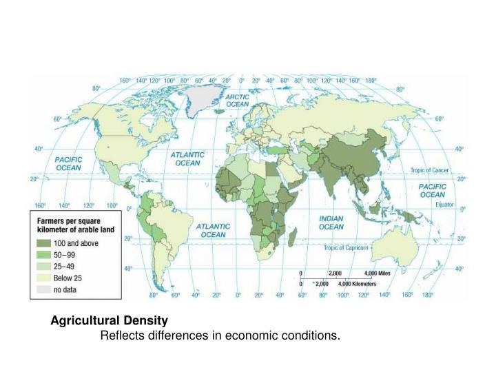 Agricultural Density