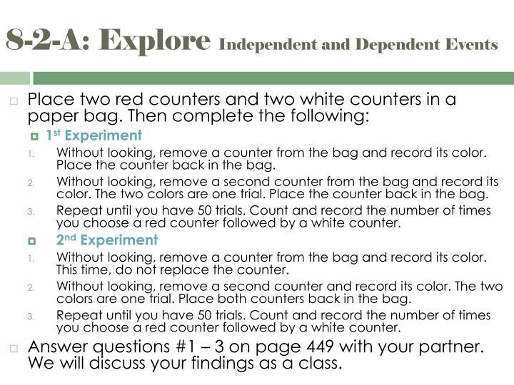 8-2-A: Explore