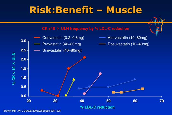 Risk:Benefit – Muscle