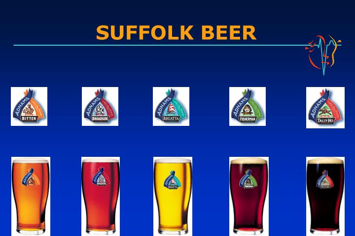 SUFFOLK BEER