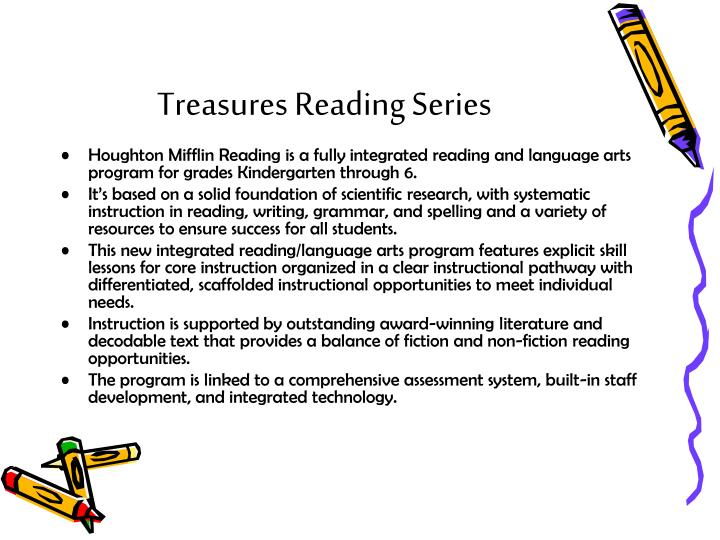 Treasures Reading Series