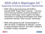 ieee usa in washington dc supporting continuing education opportunities1