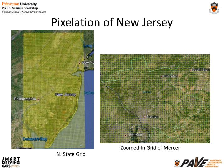 Pixelation of New Jersey