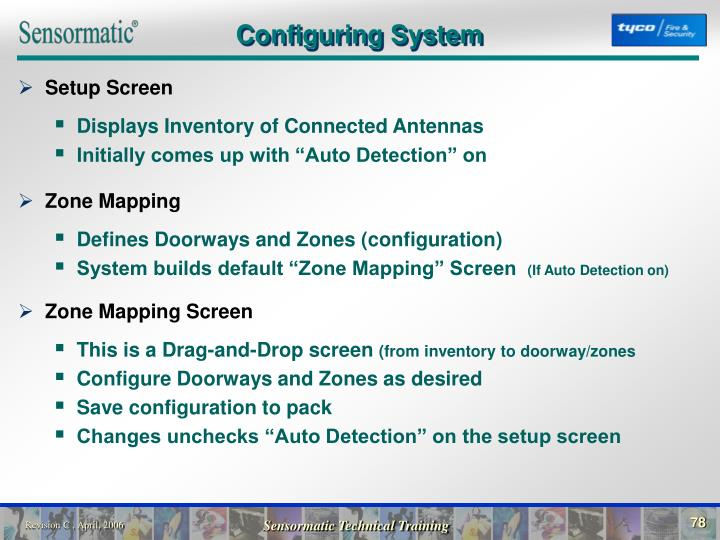 Configuring System