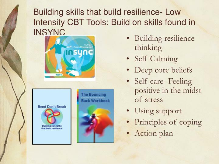 Building resilience thinking