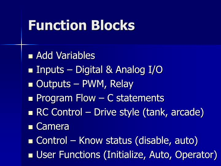 Function Blocks