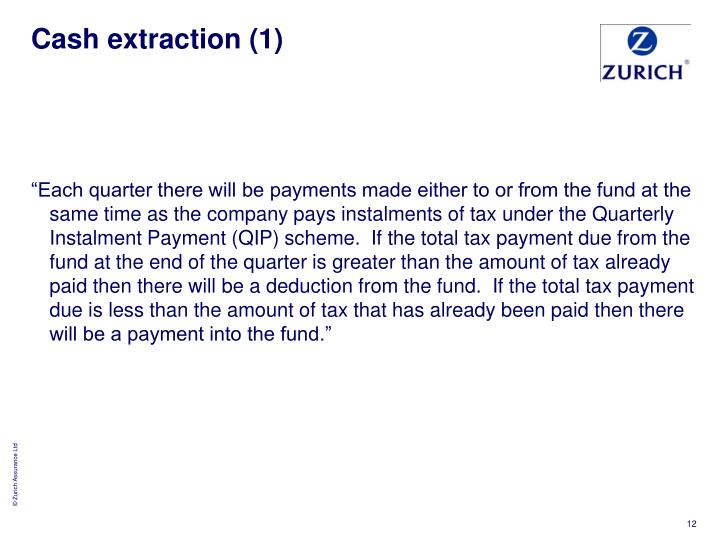 Cash extraction (1)