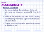 step 10 accessibility5
