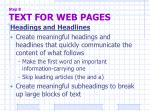 step 8 text for web pages6