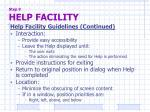 step 9 help facility2