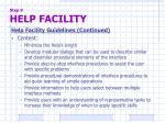 step 9 help facility3