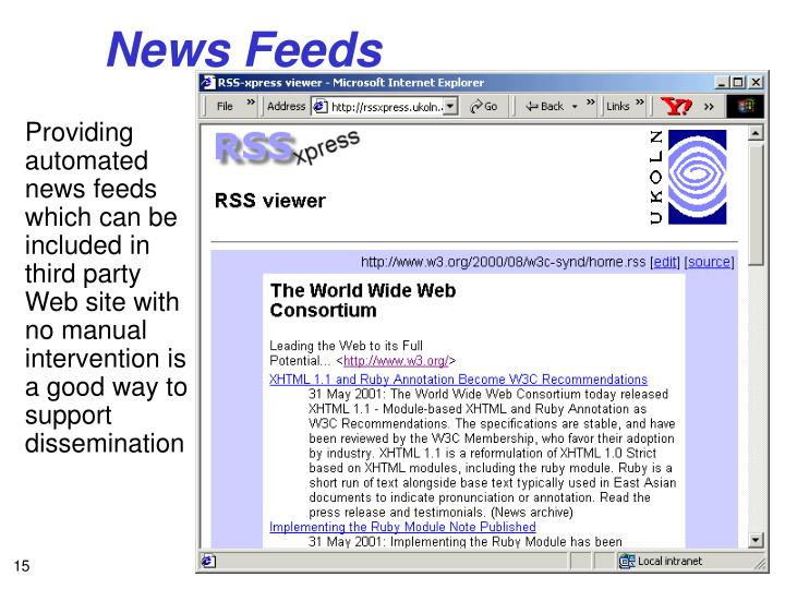 News Feeds
