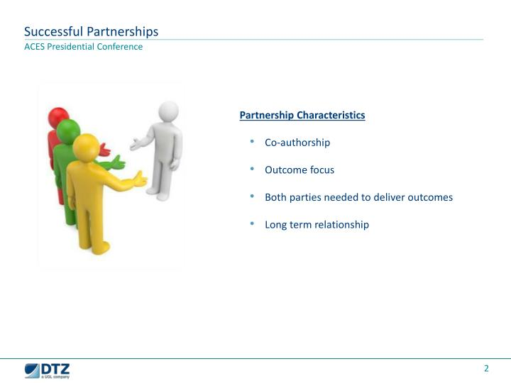 Successful Partnerships