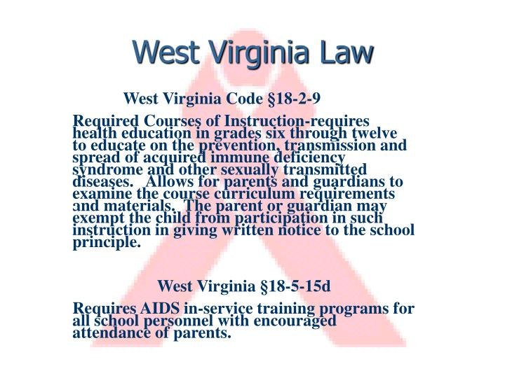 West Virginia Law