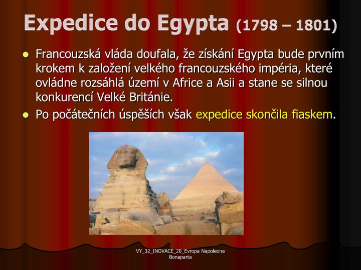 Expedice do Egypta