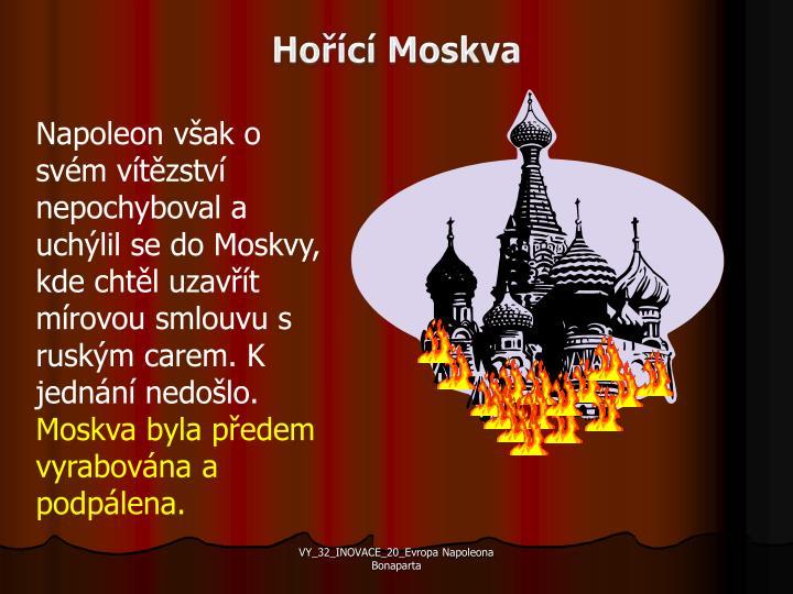 Hořící Moskva