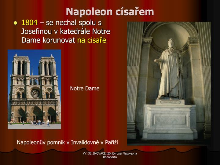 Napoleon císařem