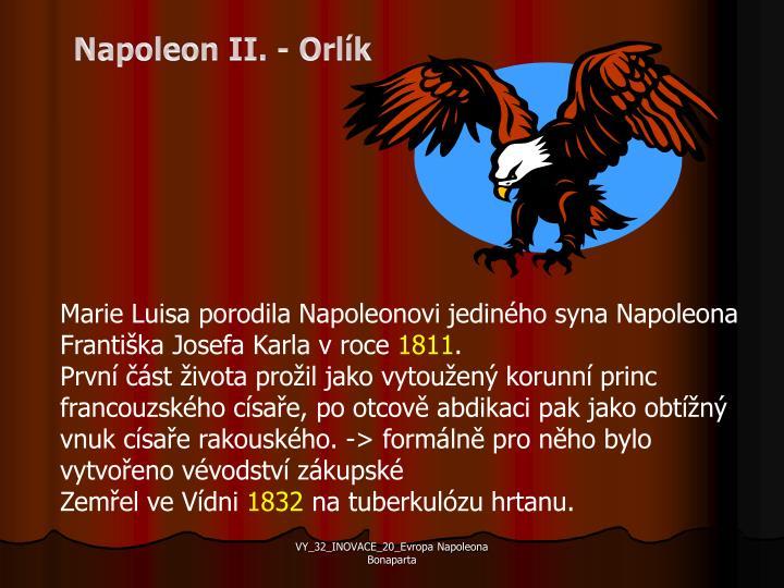 Napoleon II. - Orlík