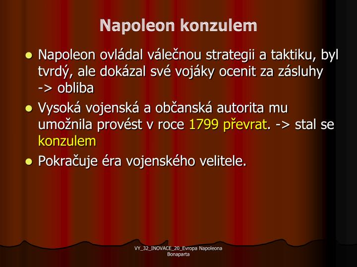 Napoleon konzulem