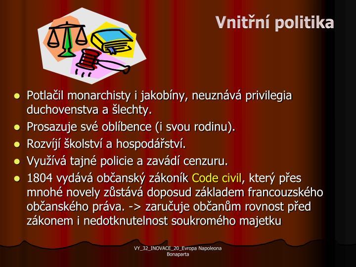 Vnitřní politika