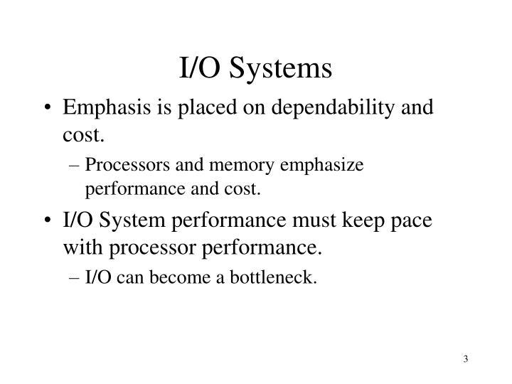 I/O Systems