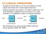4 2 logical operations