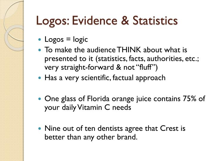 Logos: Evidence & Statistics