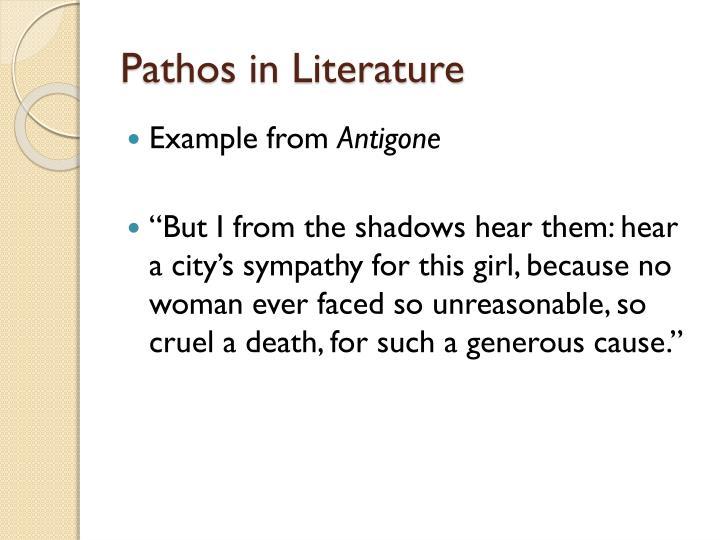 Pathos in Literature