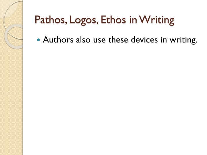 Pathos, Logos, Ethos in Writing