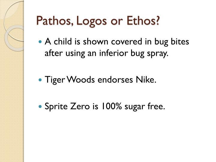 Pathos, Logos or Ethos?