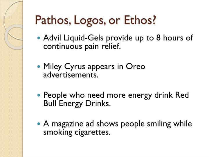 Pathos, Logos, or Ethos?