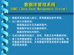dbms data base management system