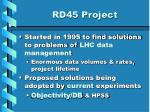 rd45 project