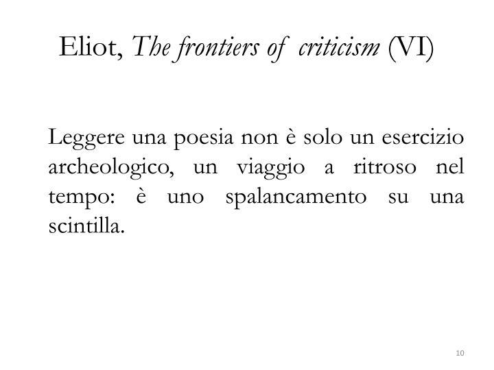Eliot,